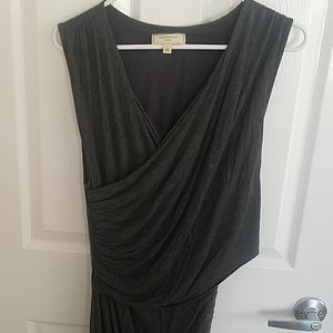 Anthropologie Ruched Dress
